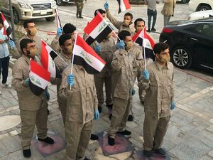 بصیرت مثالزدنی گردانهای حزبالله عراق پس از آزادی +عکس