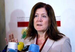 دورتی شیا سفیر آمریکا در لبنان