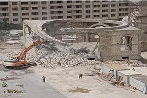 واکنش مداح معروف به تخریب مسجدی در باکو +عکس