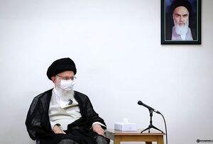 تصویری از ماسکزدن رهبر انقلاب در جلسات کاری