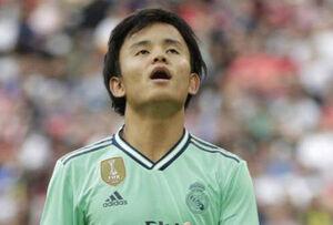 سوسیداد مشتری بازیکن ژاپنی رئال مادرید