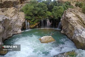 عکس/ خطرناکترین آبشار ایران
