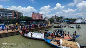 عکس/ کشته در برخورد دو قایق در بنگلادش