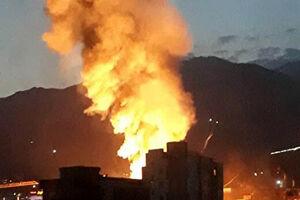 انفجار و آتشسوزی در شمال تهران/ تایید جان باختن ۱۹ نفر در این حادثه/شناسایی جانباختگان کلینیک سینا +فیلم و عکس
