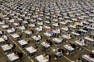 برگزاری آزمون دانشگاه با رعایت فاصله اجتماعی
