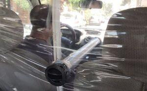 اقدام جالب یک راننده تاکسی