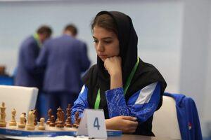 پیروزی خادمالشریعه برابر حریف آمریکایی در مسابقات شطرنج آنلاین