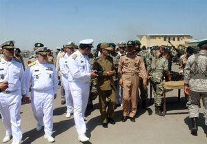 بازدید فرمانده کل ارتش از عملیات هواپیماهای آب نشین
