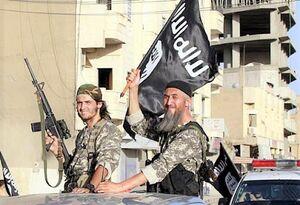 گذشتن از جان به قیمت حذف پرچم داعش +عکس