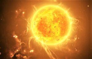 ناپدید شدن یک ستاره غولپیکر!