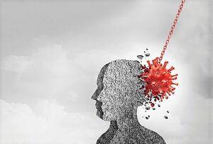 ابتلای بهبودیافتگان کرونایی به مشکلات مغزی