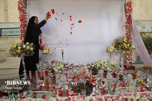 عکس/ اهدای ۱۲۰۰ سری جهیزیه در روز ولادت امام رضا(ع)