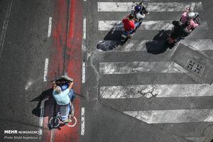 عکس/ اینجا مسیر دوچرخه است