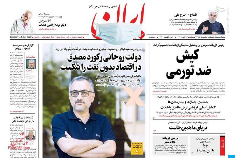 ایران: کیش ضد تورمی