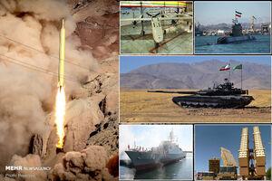 آمادگی ایران برای صادرات نظامی/سبد نیروهای مسلح برای تجارت جهانی