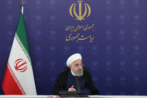 عکس/ روحانی در جلسه ستاد ملی مقابله با کرونا