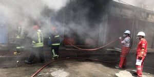 نیروگاه زرگان اهواز دچار آتشسوزی شد