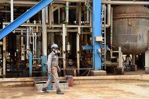 مهار نشت گاز کلر در پتروشیمی کارون