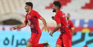 هفته بیست و سوم لیگ برتر فوتبال/ پرسپولیسِ 10 نفره بالهای شاهین را چید/ تیم گلمحمدی به قهرمانی نزدیکتر شد