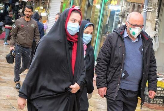 فیلم/ تهران در شرایط هشدار کرونایی