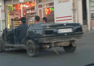 عجیبترین خودروی پرشیا