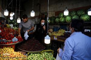 عکس/ آغاز طرح اجباری ماسک در مشهد