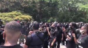فیلم/ معترضان مسلح سیاهپوست آمریکا