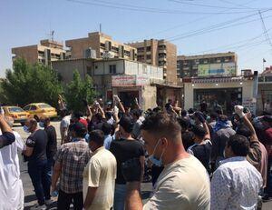 تجمع اعتراضی مردم عراق علیه اهانت رسانههای عربستان +عکس
