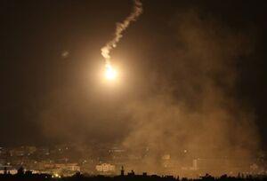 شلیک دو راکت از غزه به سوی شهرکهای صهیونیستی