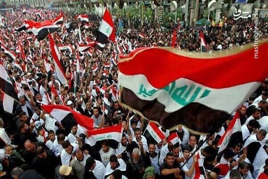 فیلم/ تظاهرات ضد سعودی-آمریکایی در عراق