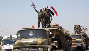 تصویری از نبرد روز گذشته ارتش پابرهنه