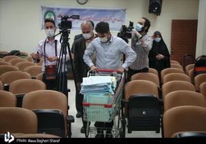 عکس/ حجم پروندههای اتهامات عباس ایروانی