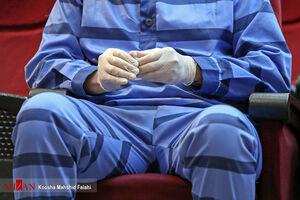 عکس/ برگزاری دادگاه با رعایت فاصله اجتماعی