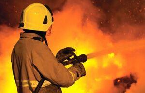 آتشسوزی در انباری جنب سوله مدیریت بحران