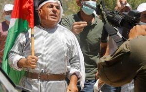 راهپیمایی در کرانه باختری در محکومیت شهرکسازی صهیونیستها