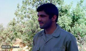 امضای برات شهادت «امیر مسعود تابش» بر بالین رفیق شهیدش