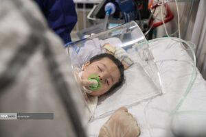 عکس/ کرونا در کمین کودکان