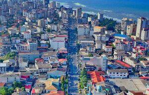 تصویر هوایی زیبا از مازندران