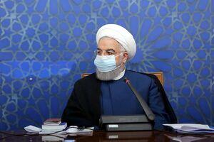 عکس/ برگزاری جلسه وزرای دولت با ماسک