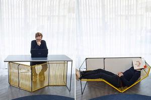 عکس/ خلاقیت در ساخت میز چندکاره