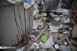 عکس/ انفجار در باقرشهر