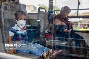 عکس/ ماسک اجباری در اراک