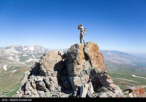 عکس/ صعود تابستانی به قله
