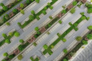 تصاویر هوایی از تاثیر کرونا بر جهان