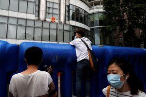 عکس/ افتتاح دفتر امنیتی چین در هنگکنگ