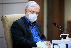 وزیر بهداشت سعید نمکی نمایه