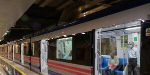 حادثه ایستگاه مترو شهدا مصدوم نداشت