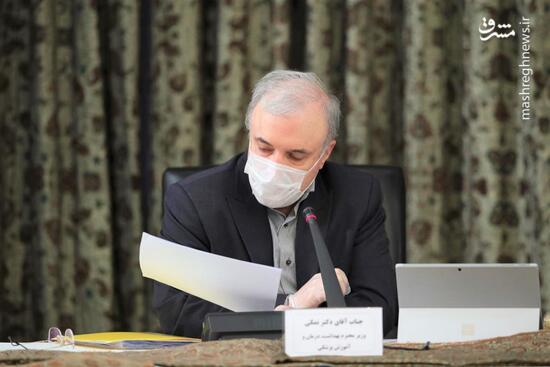 فیلم/ صحبتهای مهم وزیر بهداشت در جلسه ستاد
