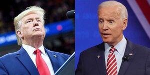 نظرسنجی| اختلاف بایدن و ترامپ ۴ درصد شد
