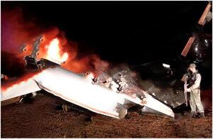 عکس/ سرنگونی هواپیمای آمریکایی در حریم هوایی ونزوئلا